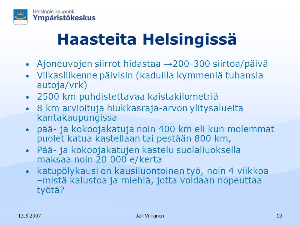 Ympäristötarkastaja Jari Viinanen Helsingin kaupungin ympäristökeskus - ppt lataa