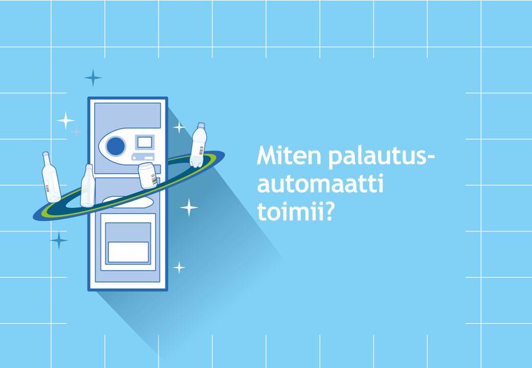 Miten palautus- automaatti toimii