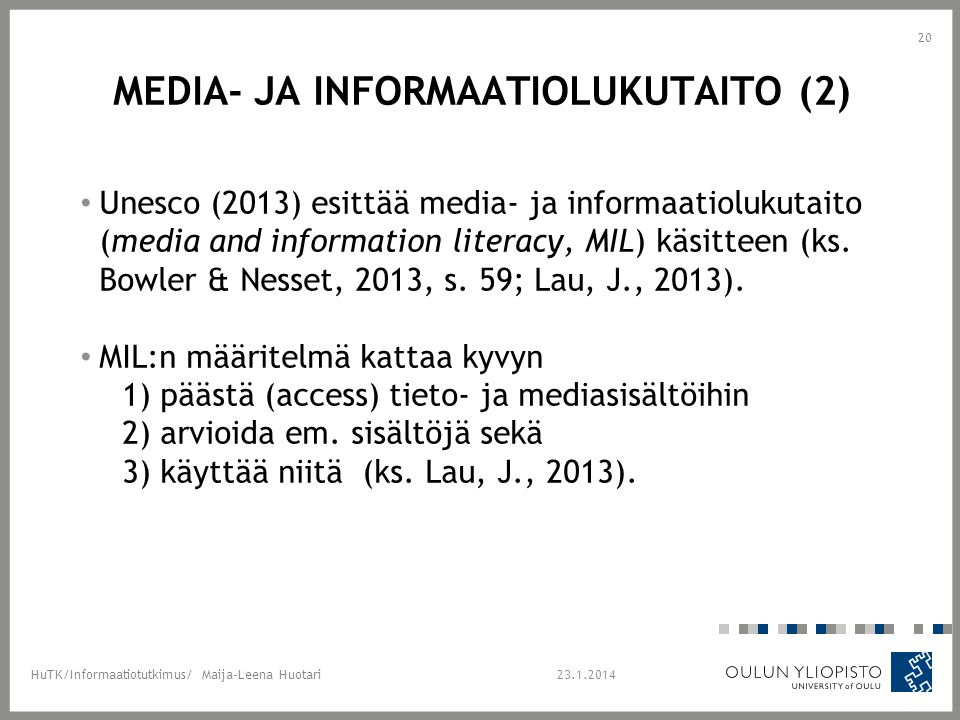 Media- ja informaatiolukutaito (2)