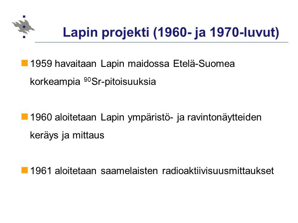 Lapin projekti (1960- ja 1970-luvut)