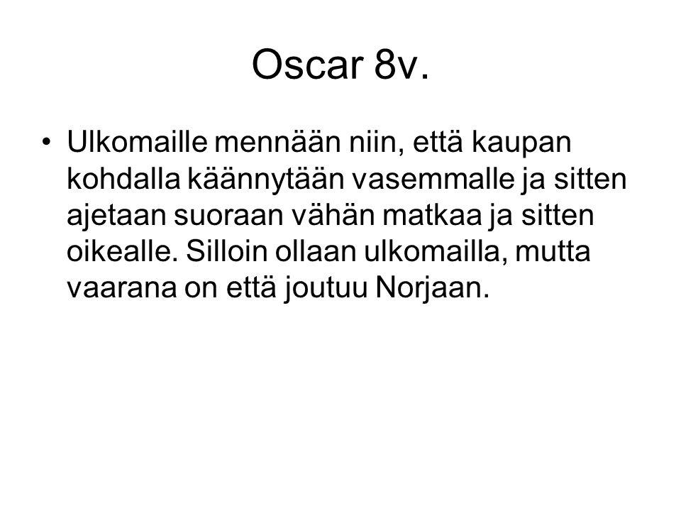 Oscar 8v.