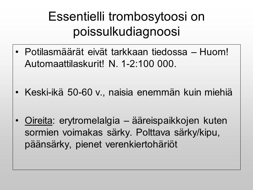 Essentielli trombosytoosi on poissulkudiagnoosi