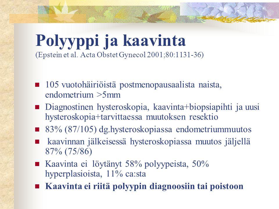 Polyyppi ja kaavinta (Epstein et al
