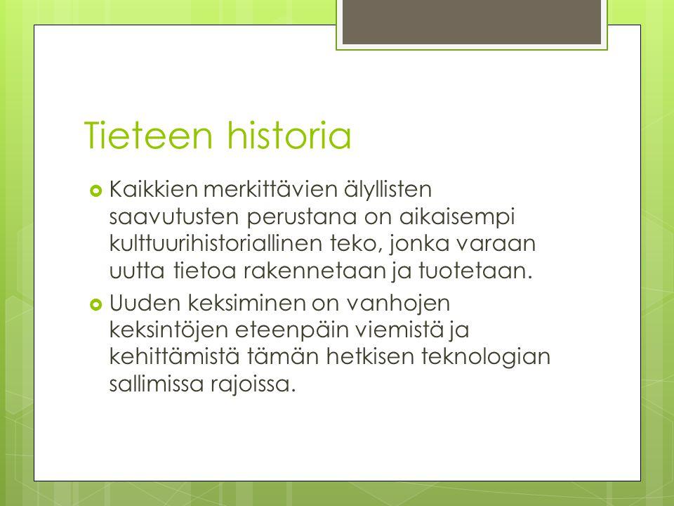 Tieteen historia