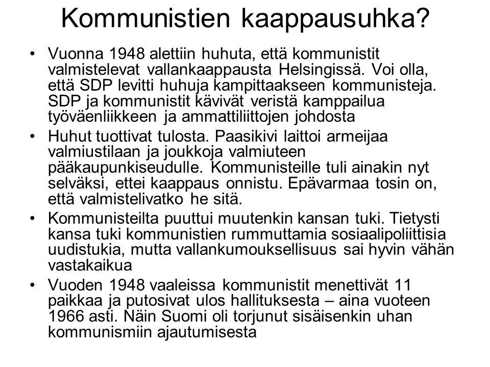 Kommunistien kaappausuhka