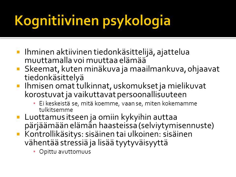 Kognitiivinen psykologia