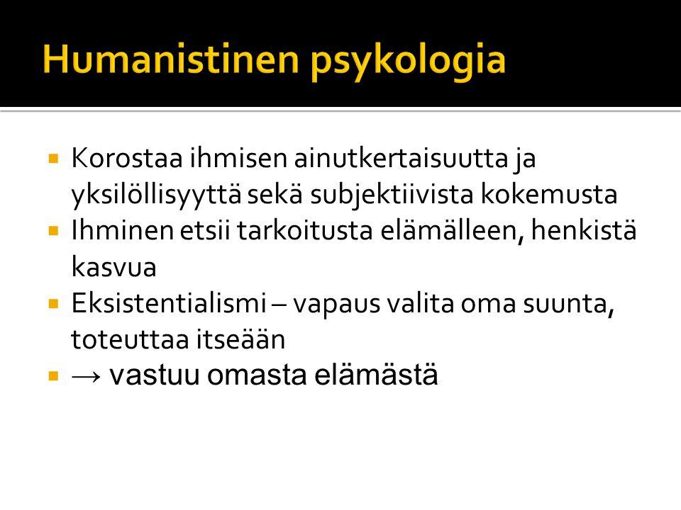 Humanistinen psykologia