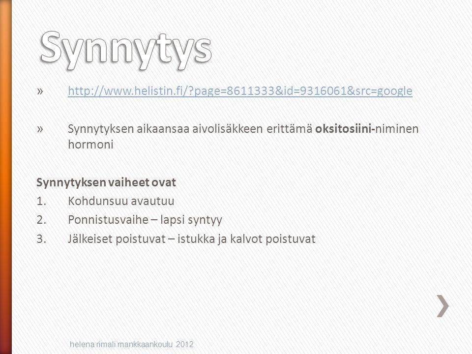 Synnytys http://www.helistin.fi/ page=8611333&id=9316061&src=google