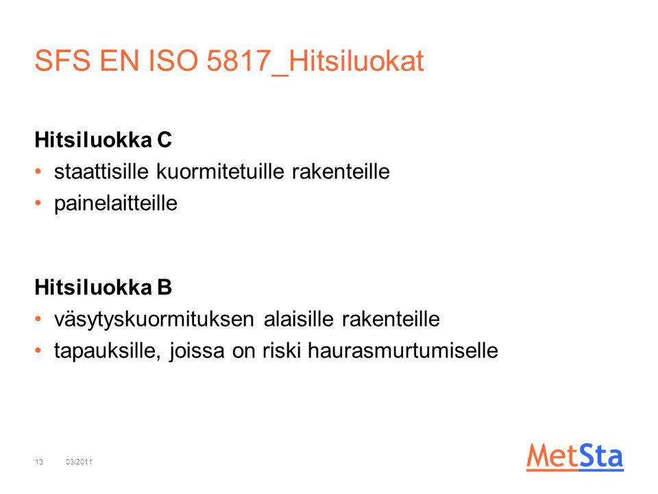 SFS EN ISO 5817_Hitsiluokat