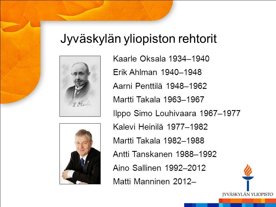 Jyväskylän yliopiston rehtorit