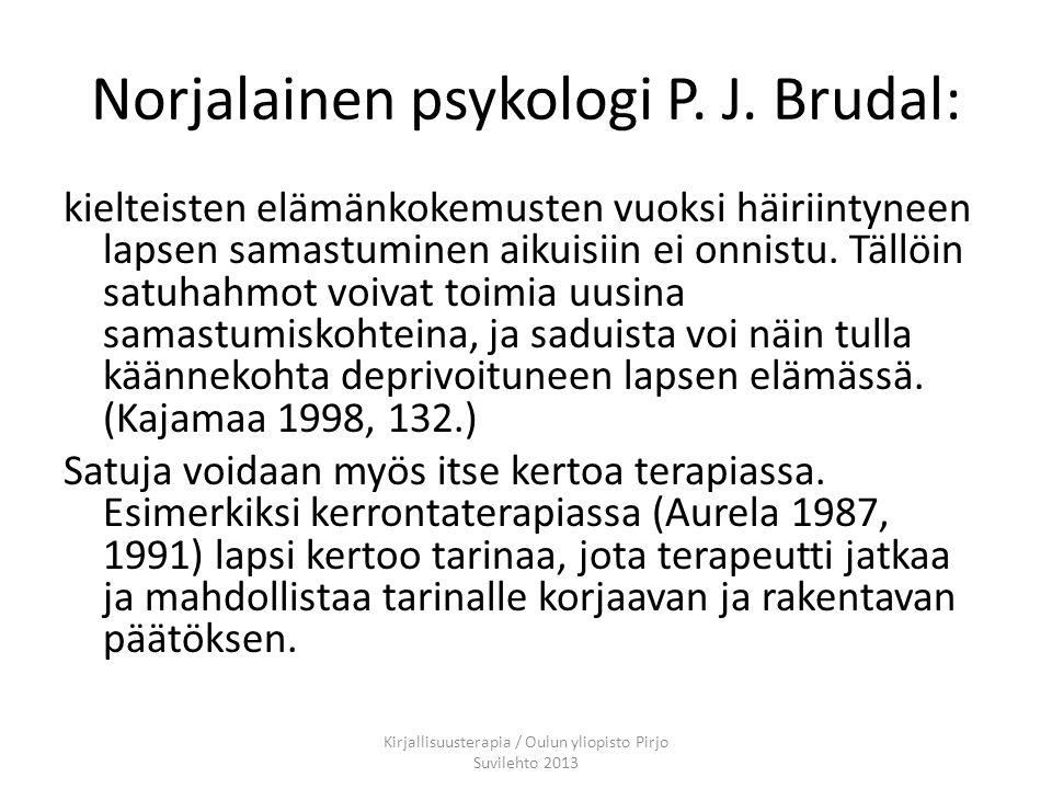 Norjalainen psykologi P. J. Brudal:
