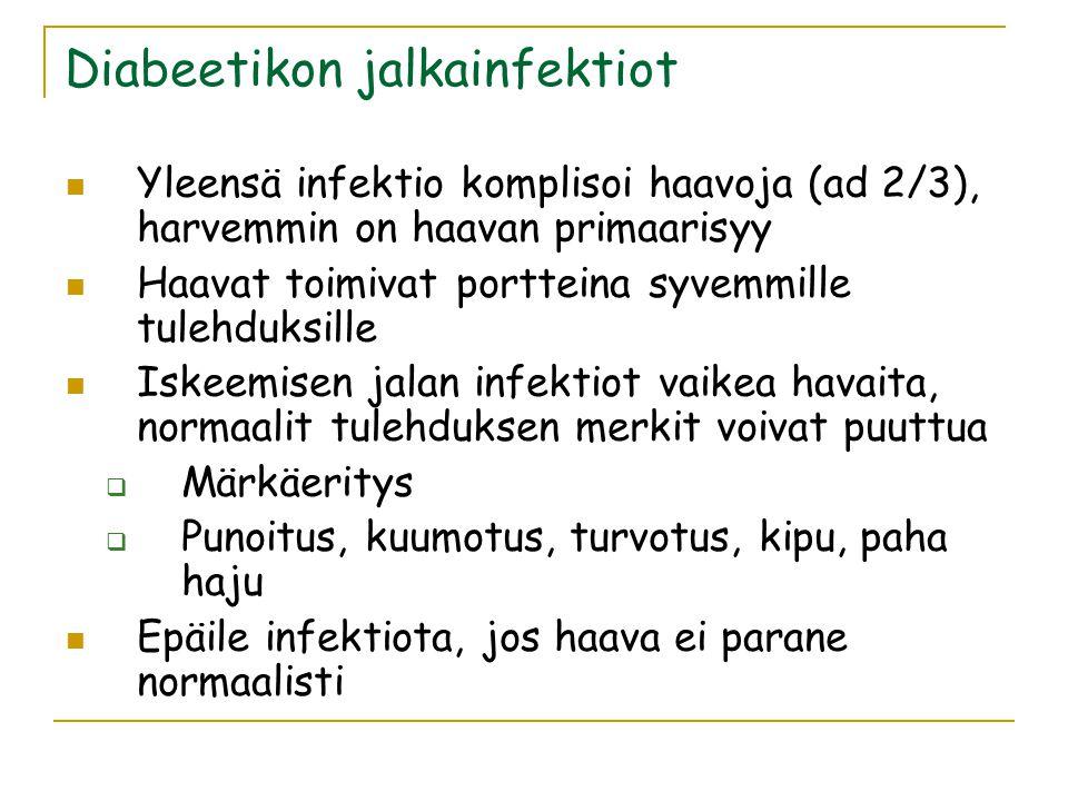 Diabeetikon jalkainfektiot