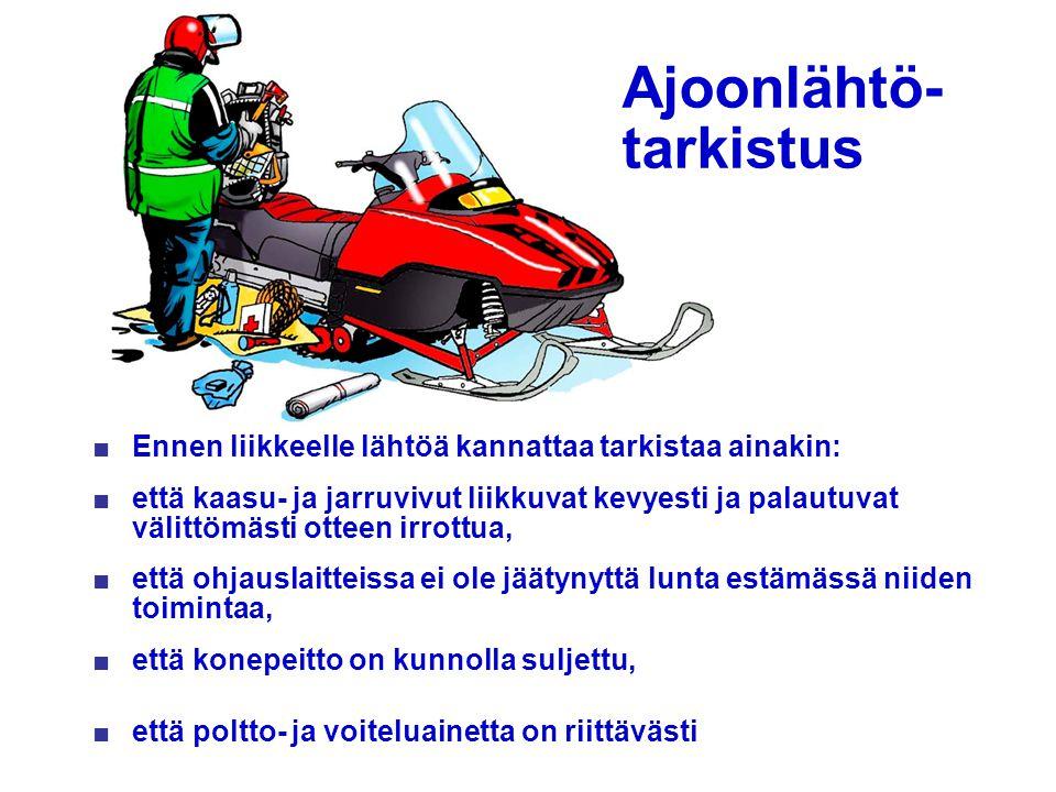 Ajoonlähtö- tarkistus