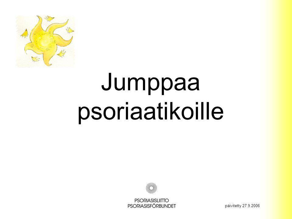 Jumppaa psoriaatikoille päivitetty 27.9.2006