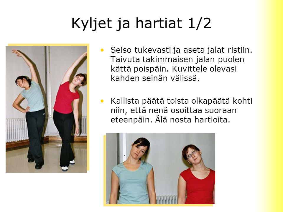 Kyljet ja hartiat 1/2