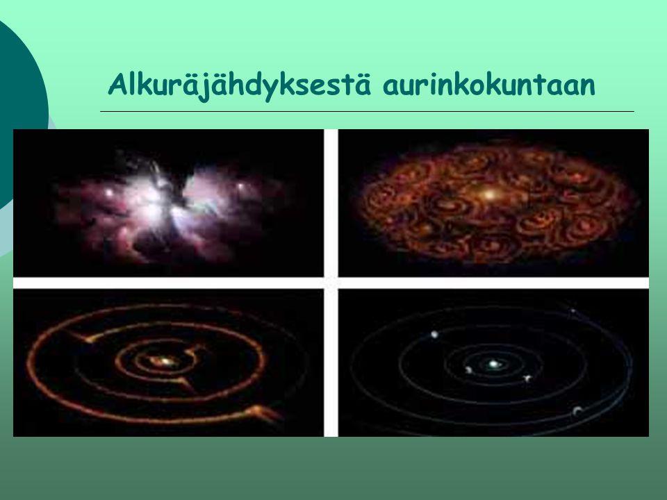 Alkuräjähdyksestä aurinkokuntaan