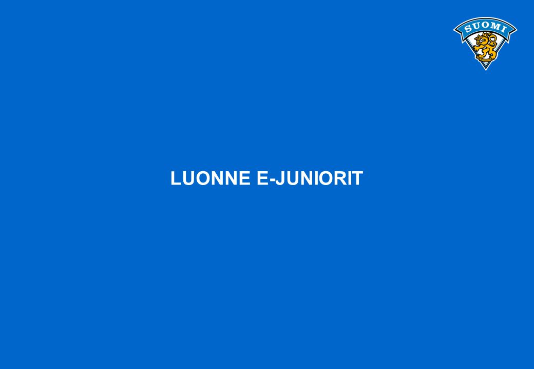 LUONNE E-JUNIORIT