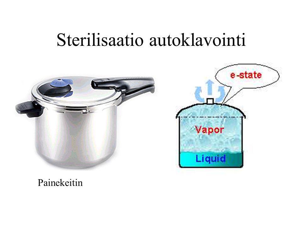 Sterilisaatio autoklavointi