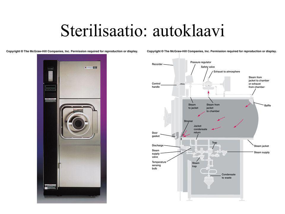 Sterilisaatio: autoklaavi