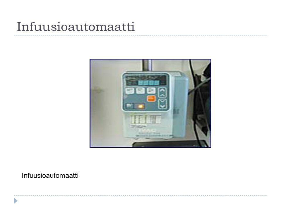 Infuusioautomaatti Infuusioautomaatti