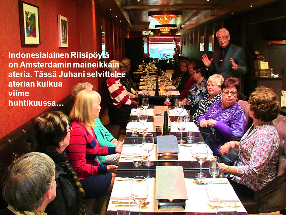 Indonesialainen Riisipöytä