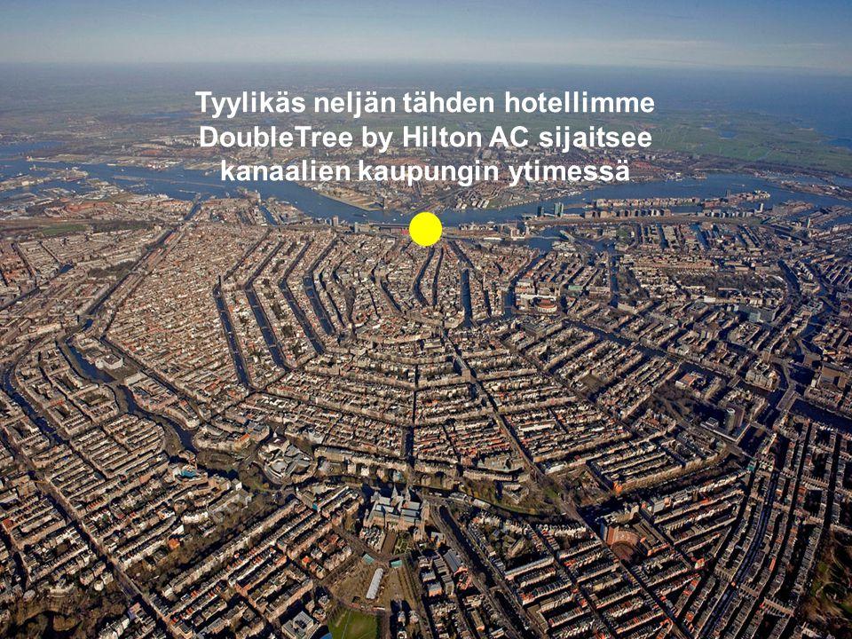 Tyylikäs neljän tähden hotellimme DoubleTree by Hilton AC sijaitsee