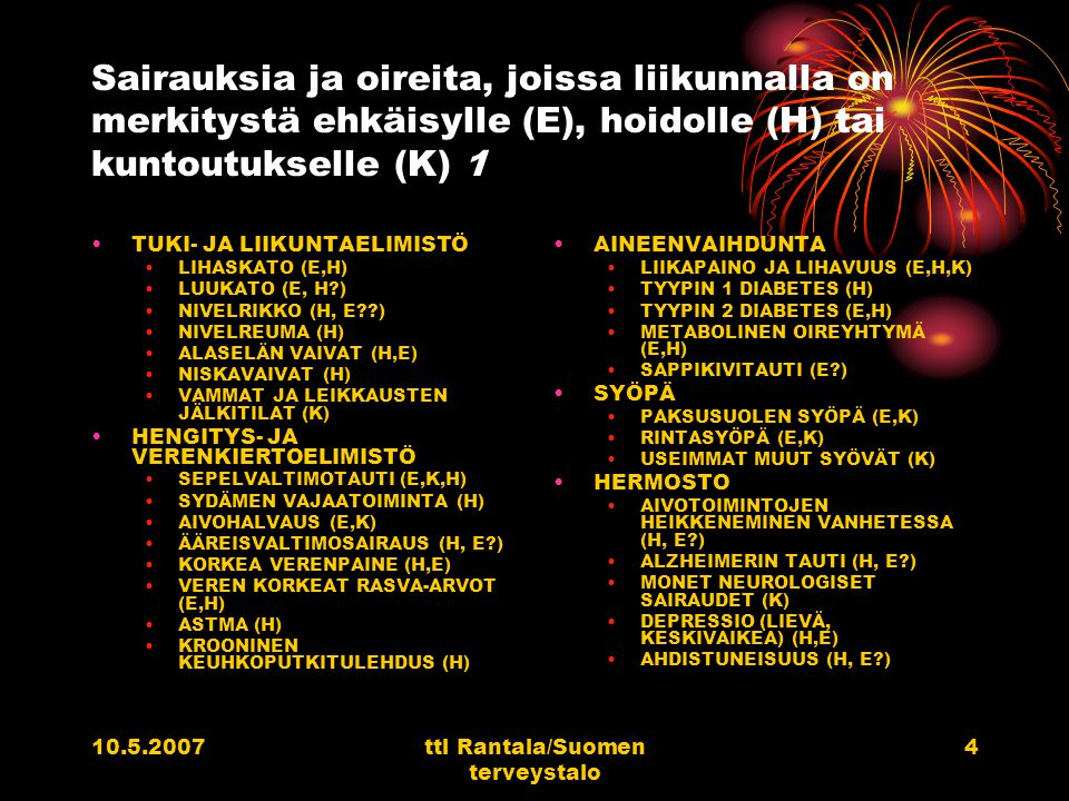 ttl Rantala/Suomen terveystalo