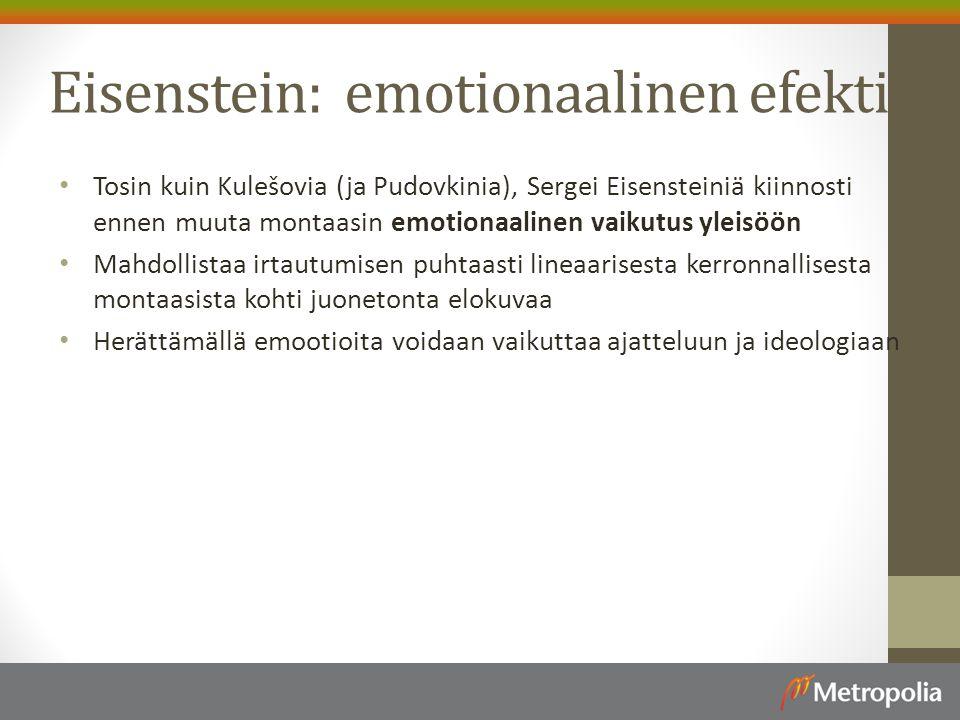 Eisenstein: emotionaalinen efekti