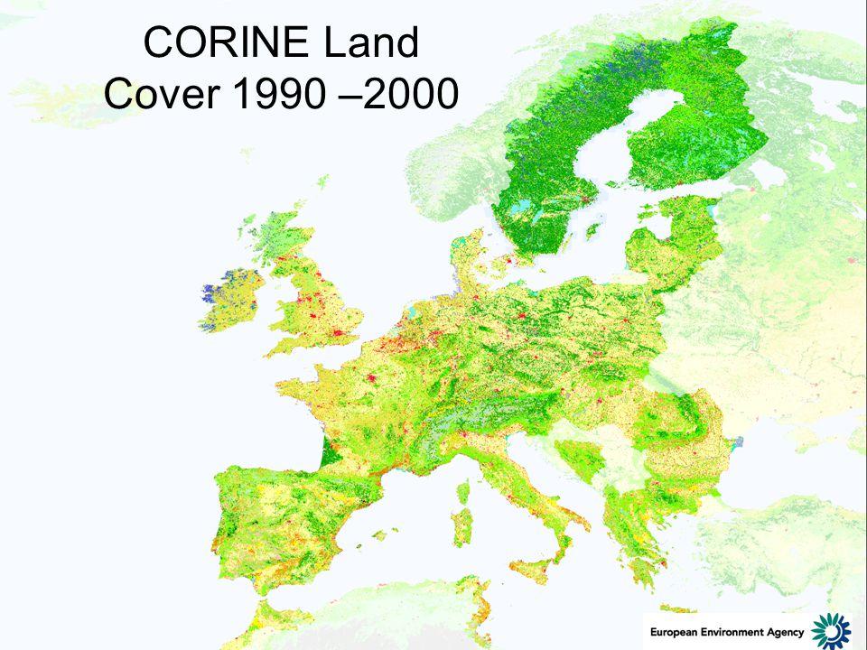 CORINE Land Cover 1990 –2000