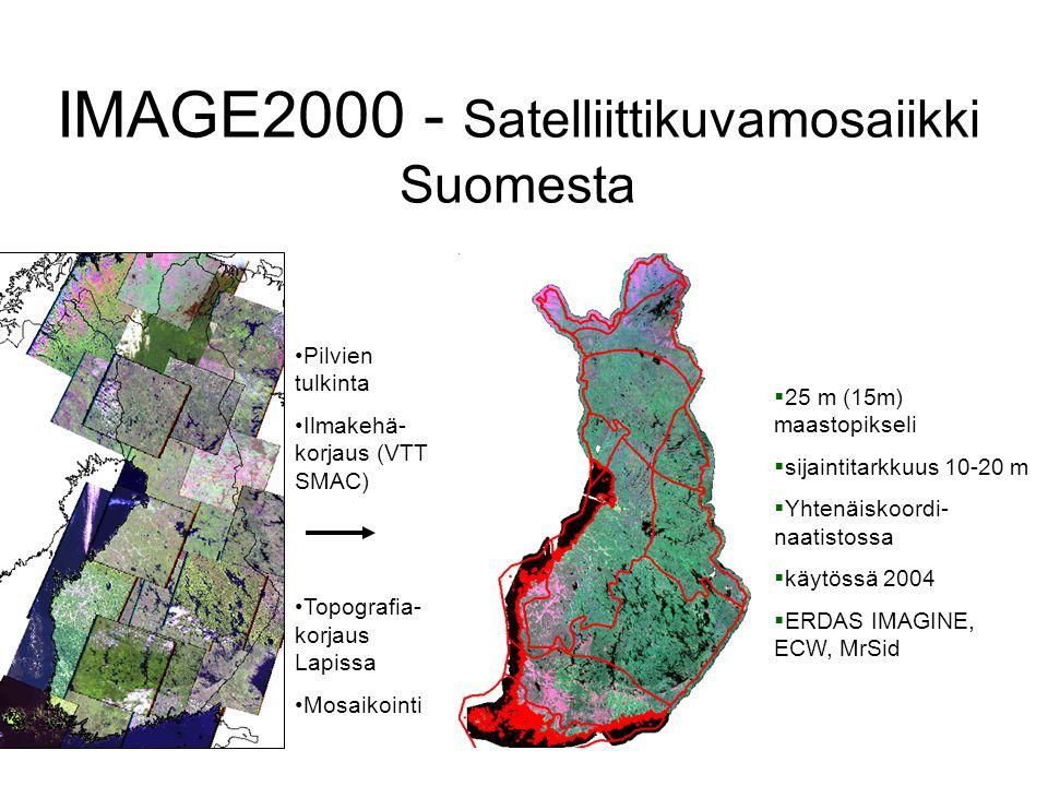 IMAGE2000 - Satelliittikuvamosaiikki Suomesta