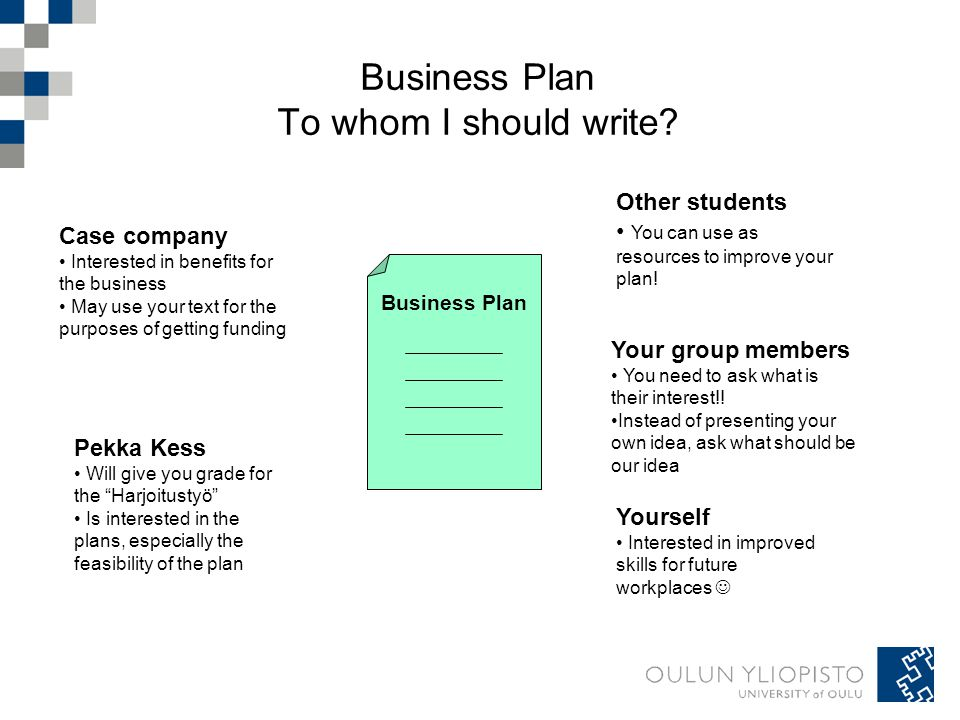 Why You Should Have a Business Plan