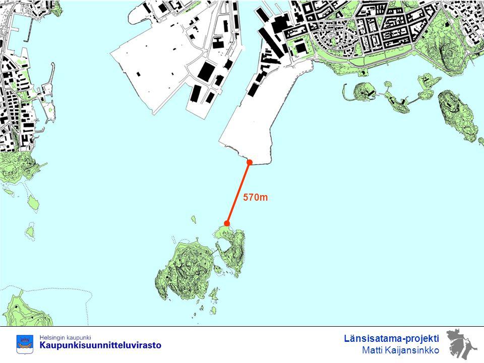 570m Länsisatama-projekti Matti Kaijansinkko