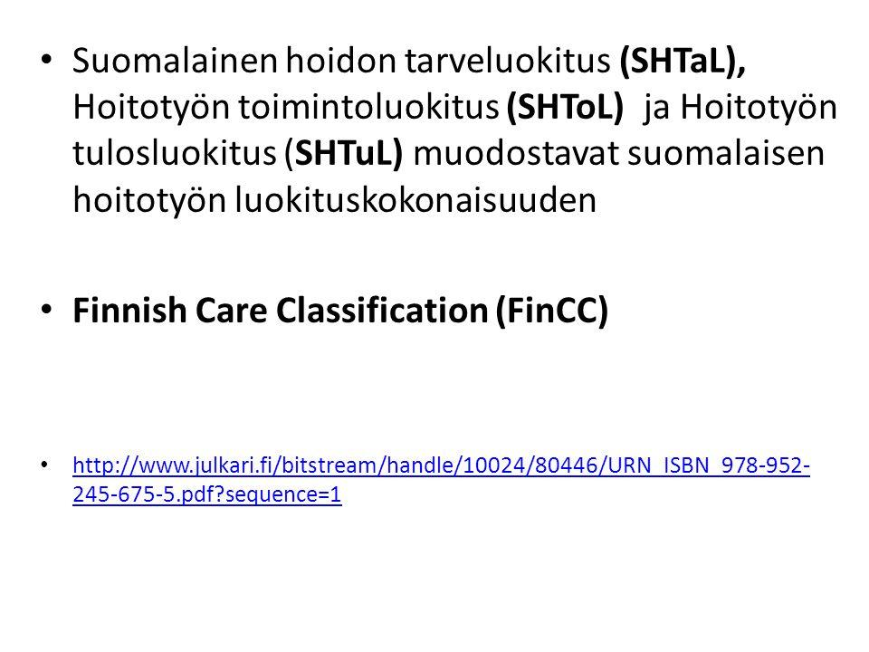 Finnish Care Classification (FinCC)