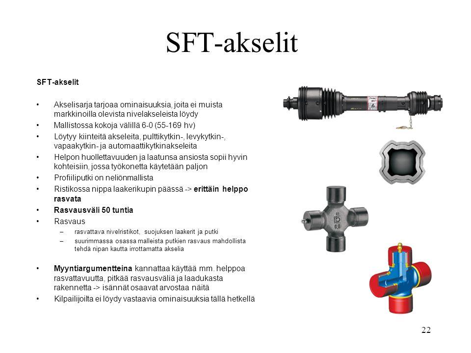 SFT-akselit SFT-akselit