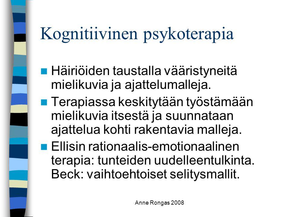 Kognitiivinen psykoterapia
