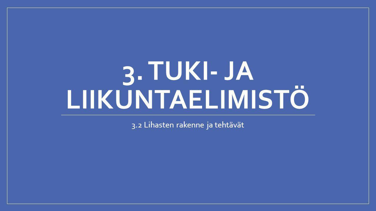 3. TUKI- JA LIIKUNTAELIMISTÖ