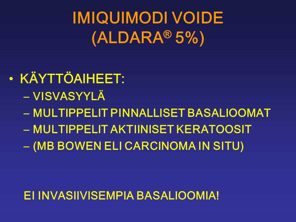 IMIQUIMODI VOIDE (ALDARA® 5%)