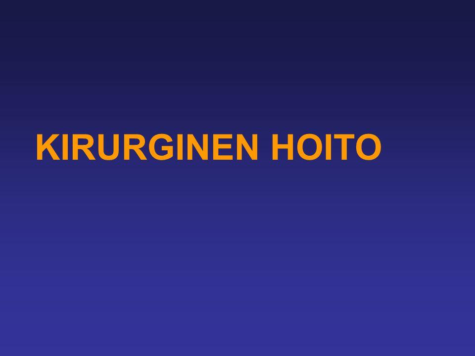 KIRURGINEN HOITO