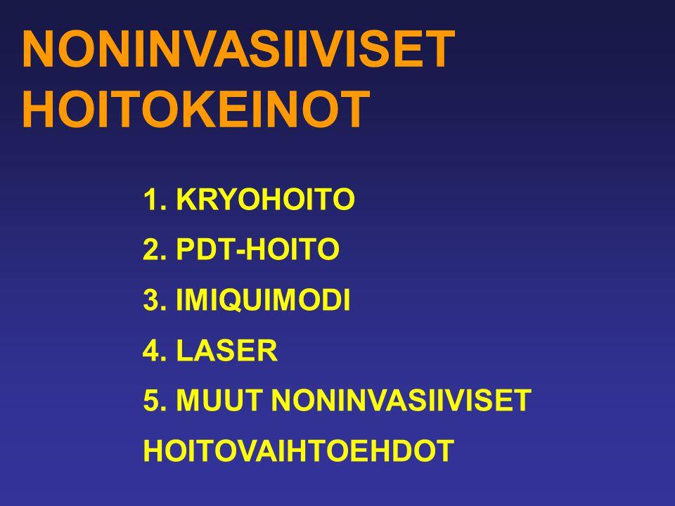 NONINVASIIVISET HOITOKEINOT
