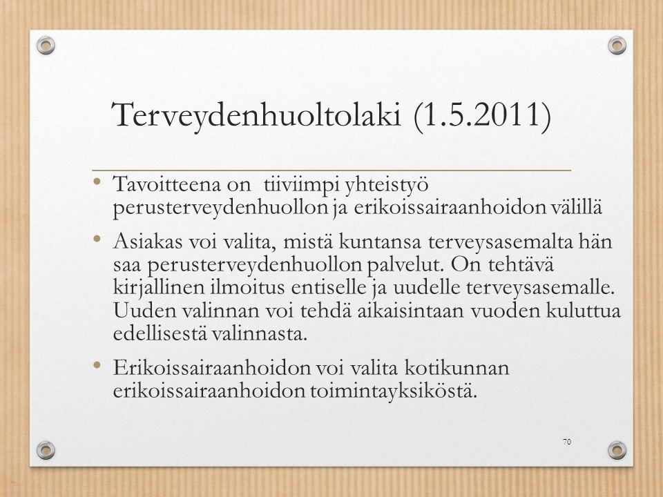 Terveydenhuoltolaki (1.5.2011)