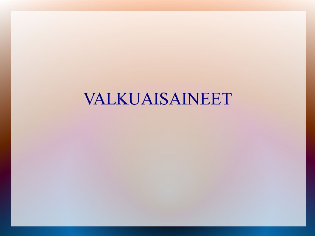 VALKUAISAINEET 72 72 72 72