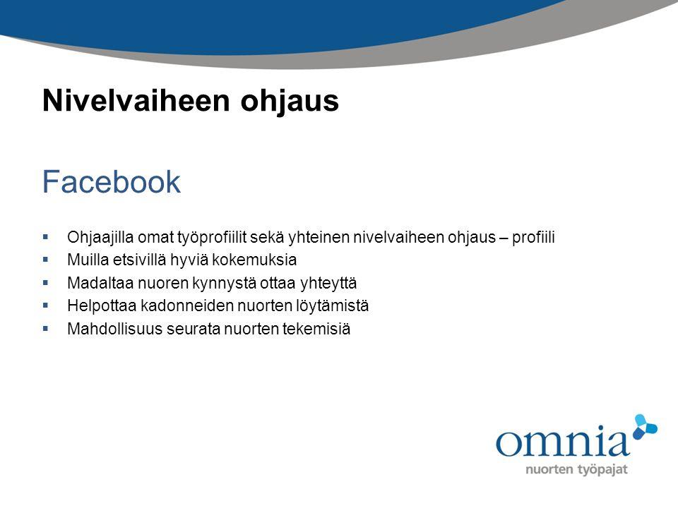 Facebook Nivelvaiheen ohjaus