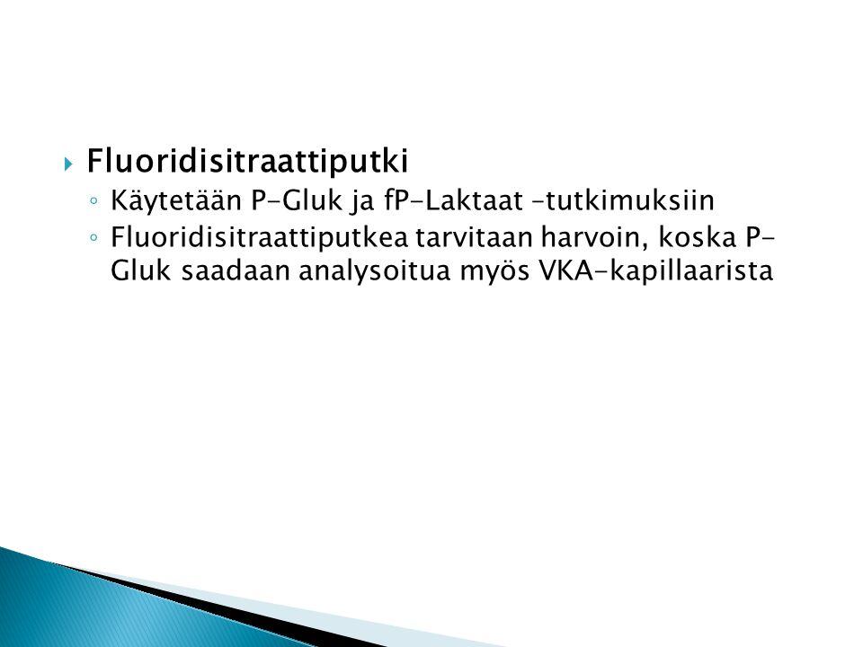 Fluoridisitraattiputki
