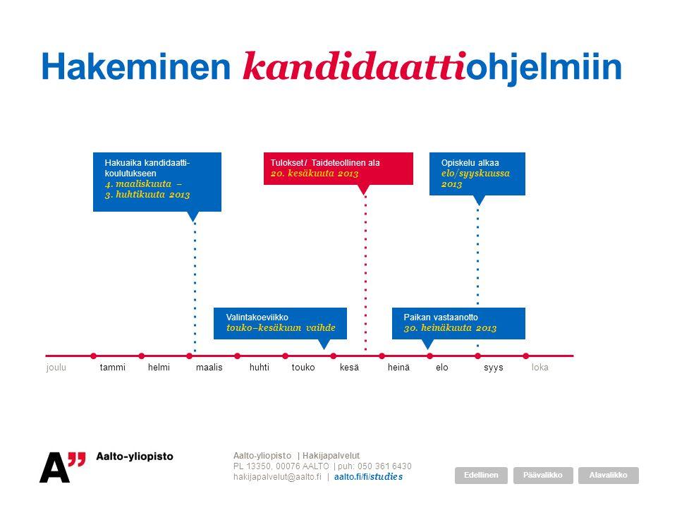 Tervetuloa Aalto-yliopistoon ppt lataa