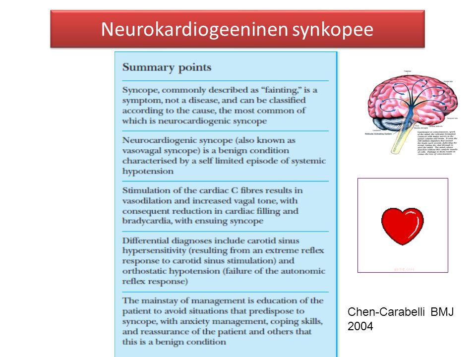Neurokardiogeeninen synkopee
