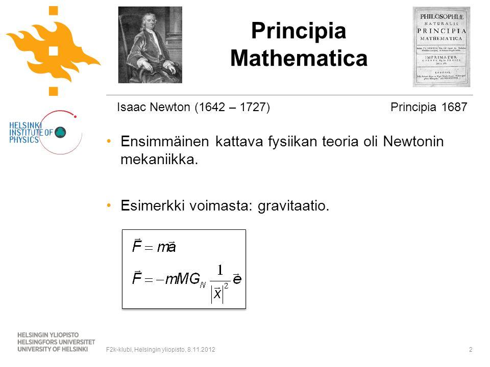 Mekaniikka esimerkki