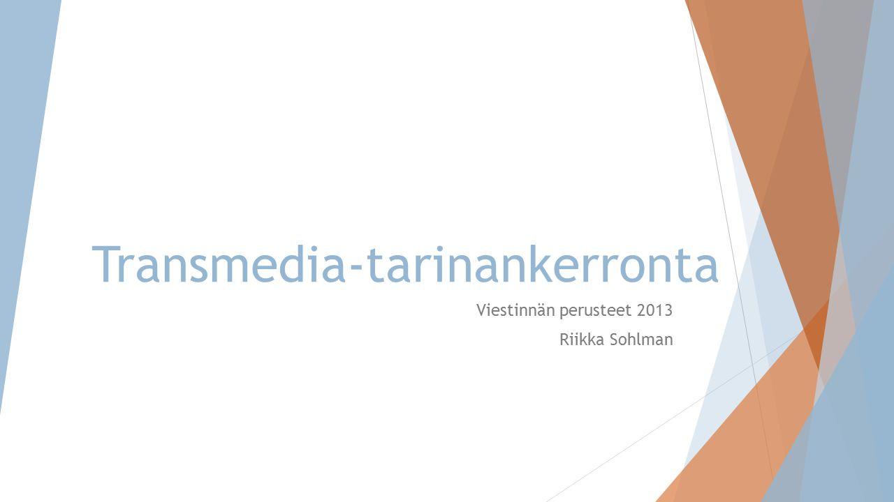 Transmedia-tarinankerronta