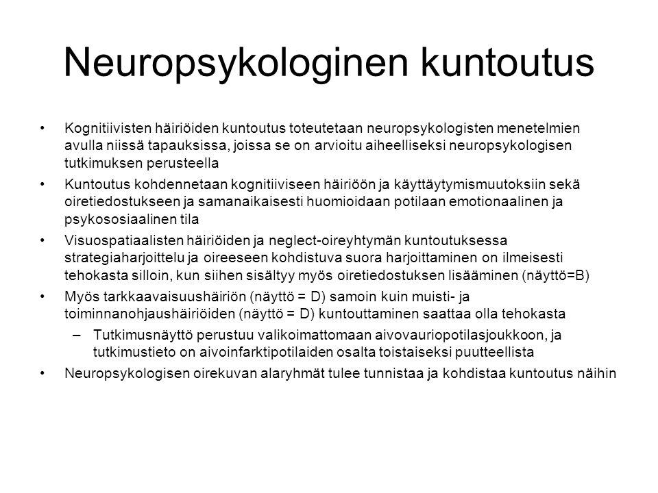 Neuropsykologinen kuntoutus