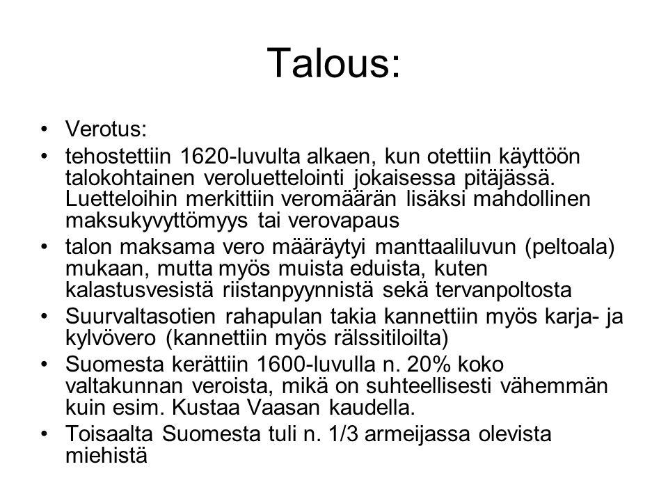 Talous: Verotus: