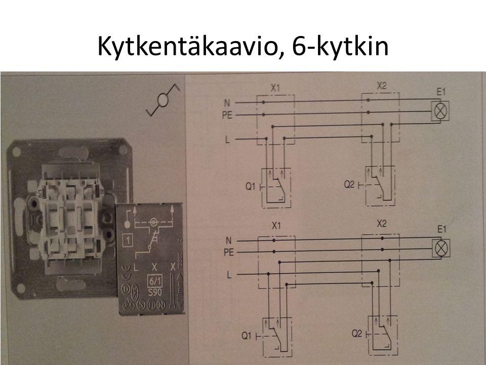 6+6 Kytkentä